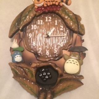 ジブリ トトロの壁掛け時計