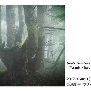 三浦康写真展「Woods ~kushigata~」