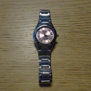 CASIO カシオ レディース 腕時計 中古 ピンク