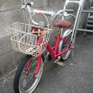 子供用自転車16インチ  アシストバー付き