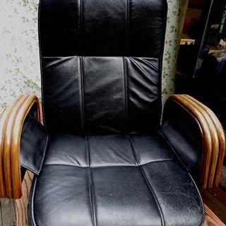 360度回転式の座椅子ー6段式のリクライニング