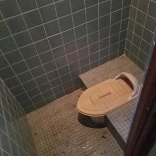 汲み取りのトイレを水洗にできる方募集日当15000円