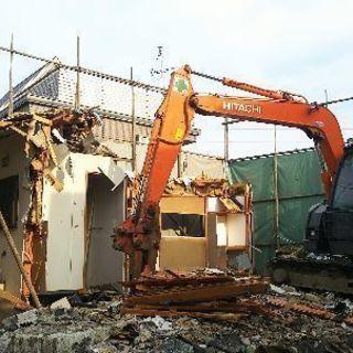 建物解体工事スタッフ