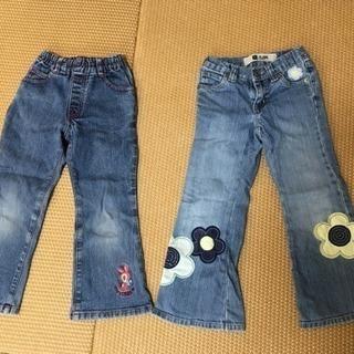 110サイズ GAP&ティンカーベル・seraph  パンツ 3本...