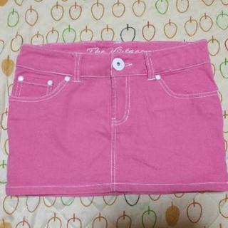 デニム スカート ピンク 美品