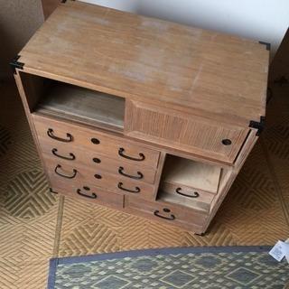 絡繰り箪笥 からくりタンス 昭和レトロ アンティーク 古民家蔵出し