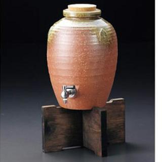 新品 大型焼酎サーバー 伊賀焼