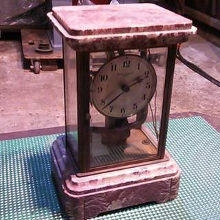 bulle clockette  古いフランス製の置き時計です。...