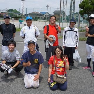 野球を始めたいと思っている方、大歓迎です(^_^)