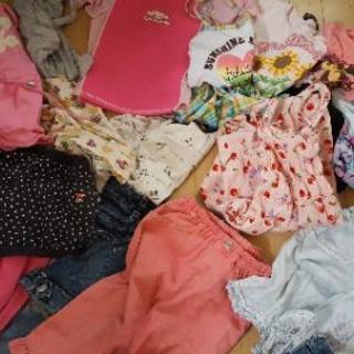 130の女の子の服