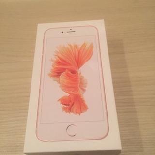 iPhone6s 16GB ローズゴールド イヤホン