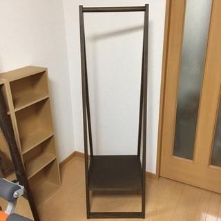 ハンガーラック 木製 無印良品 - 世田谷区