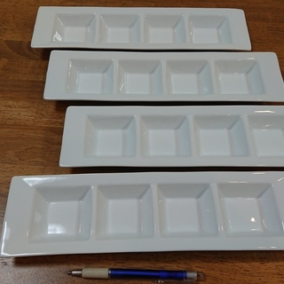 4種仕切り皿  4枚