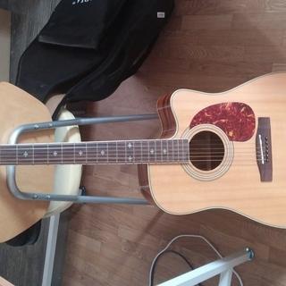 ギターのセット