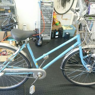 【中古モデル】 自転車 27インチ 3段ギア オートライト 整備済み