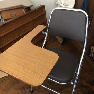 断捨離中!ミニテーブル付き椅子!値下げ!!