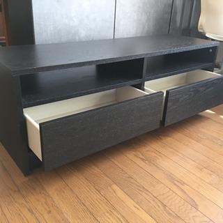 【今日明日限定】IKEA 引き出し付 テレビボード