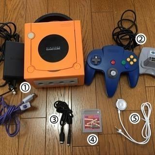 9/25まで 任天堂ゲームキューブ本体 ゲームボーイソフト 64コ...