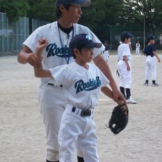 指導力NO.1 平日の野球教室 ルーキーズJr知多