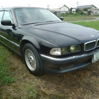 希少車 BMW 750iL ロング 車検付 程度良好