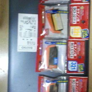 キャノンプリンタインク代替品 BCI320、321 4色