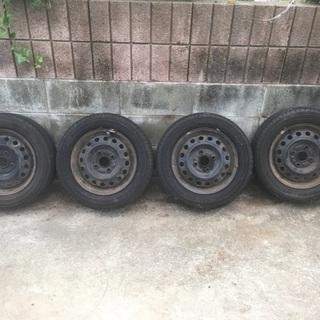ホイル付きタイヤ  ワゴンR用