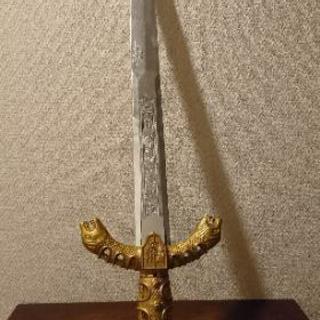 プラスチックの剣