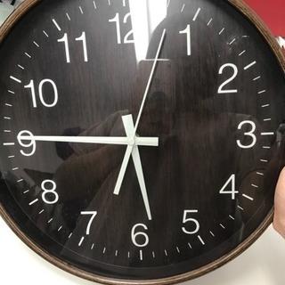 壁掛け時計 ナチュラルブラウン