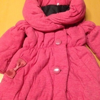 ピンクのコート サイズ90