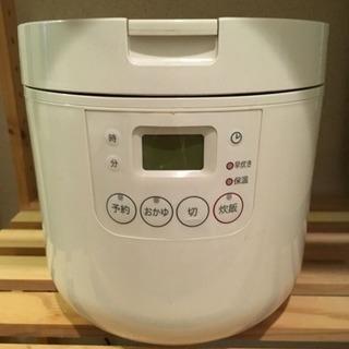 無印良品 炊飯器 2005年製 3合炊き