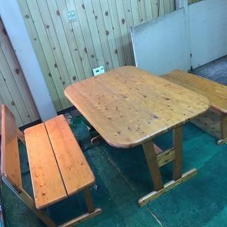 【お買得品】テーブル イス セットで!