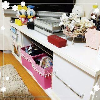 テレビ台 白家具
