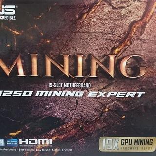 新品未使用マイニング用ボード ASUS B250 mining e...