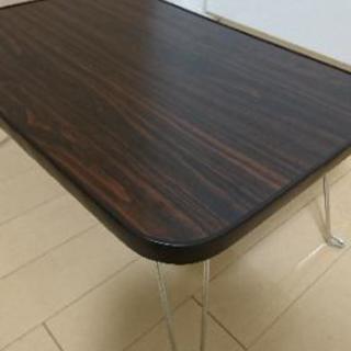 折りたたみテーブル(小さい) - 家具