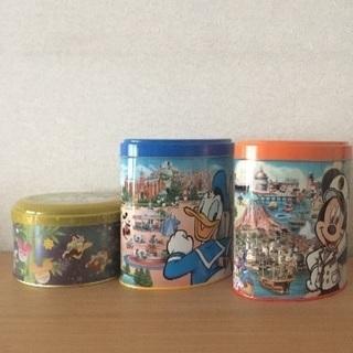 ディズニーランドお菓子缶