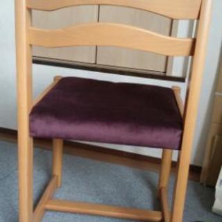 学習机用椅子。