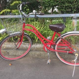 コシノミチコデザインの自転車