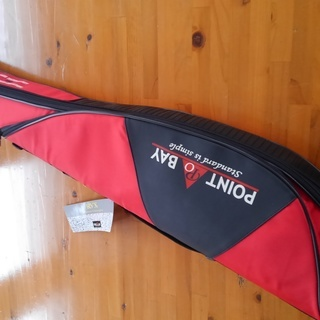 フローティングロッドケース 色赤、青 135cm