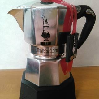 ビアレッティBIALETTI電気式モカコーヒーメーカー2カップ用【...