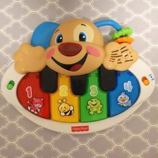 FisherPrice 鍵盤 ピアノ光る犬のおもちゃ