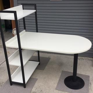 <美品>お洒落で機能的なマルチパソコンテーブル♪