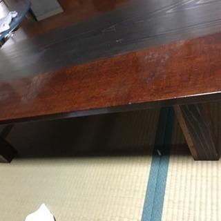座卓テーブル譲ります