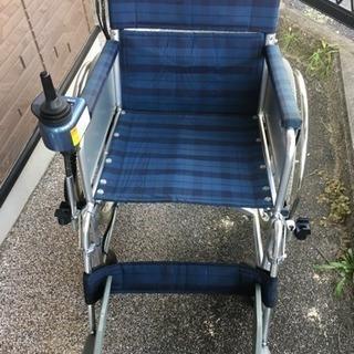 電動車椅子です