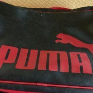 プーマのスポーツバッグ