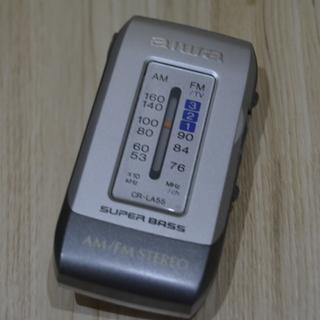 ポータブル ポケットラジオ★★クリップ式