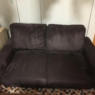 ブラウン ソファ 1カ月使用