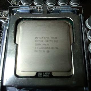 CPU Intel Core2Duo E8500 中古 バルク