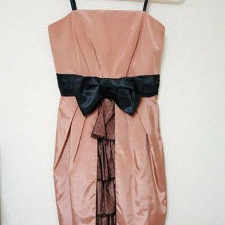 リボン付き  ワンピ  ドレス