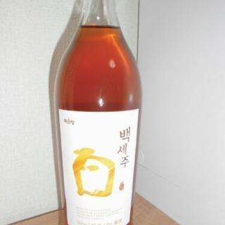 お酒、韓国のお酒です。