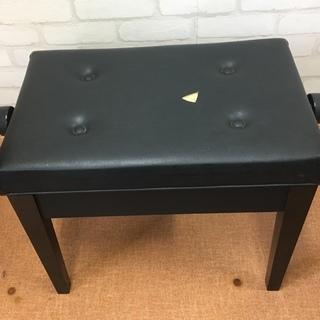 高さ調整付きピアノ椅子 中古 座面55×36